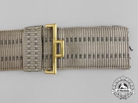 Kriegsmarine Officer's Brocade Dress Belt Strap Obverse