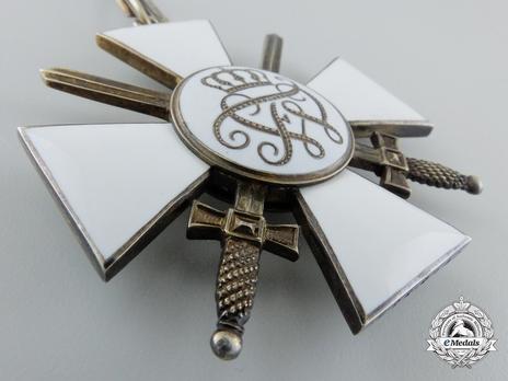 II Class Cross (with swords) (by J. Godet & Sohn) Reverse