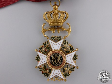 Grand Cross (Maritime Division, 1951-) (by Walravens) Reverse
