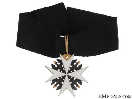 Order of St. John, Type II, Knight of Honour Cross (in silver gilt)