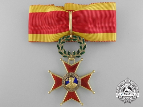 Order of St. Gregory the Great Grand Officer (Civil Division) (with gold) Obverse