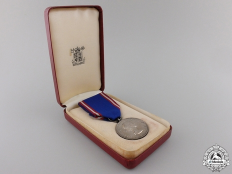 Silver Medal (1952-) in Case of Issue
