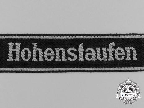 Waffen-SS Hohenstaufen Cuff Title Obverse