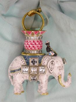 Order of the Elephant, Badge (Christian IX)