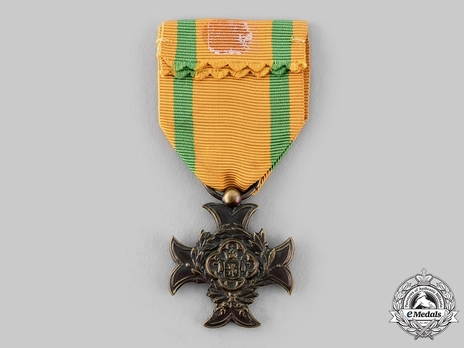 Service Cross for Military Personnel, III Class Cross (for Non-Commissioned Officers and Soldiers, for 10 Years, 1882-) Reverse