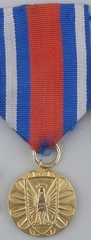 Medal for Merit in the Protection of Public Order, I Class Obverse