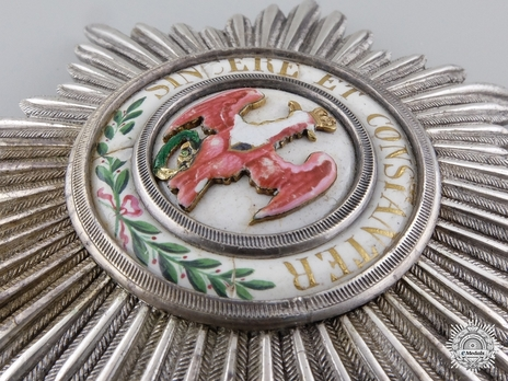 Class Breast Star (with oak leaves 1811-1829)