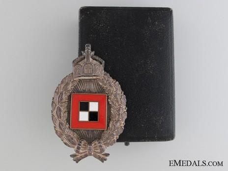 Miniature Observers' Badge Case of Issue (by C.E. Junker, Berlin) Obverse