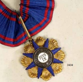 Order of Pius IX, Commander (gold)