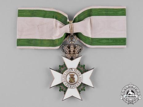 Order of Merit, Type II, Civil Division, I Class Commander (1891-1918, in silver gilt)