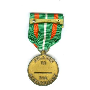 Coast Guard Achievement Medal Reverse