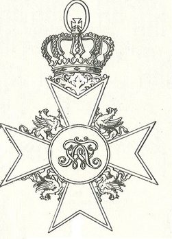 Grand Cross (with gold crown) (Gold) Obverse
