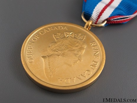 Queen Elizabeth II Golden Jubilee Medal (Gold-Plated Cupro-Nickel) Obverse