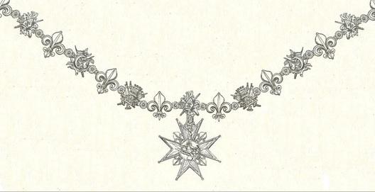 Order of Saint Januarius, Knight's Collar Obverse