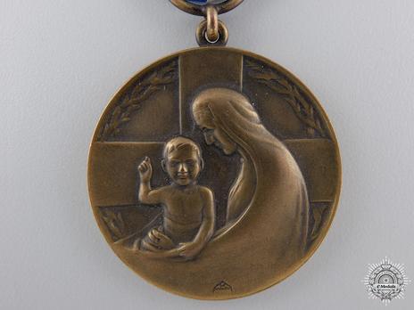 Medal for Humanity, Bronze Medal Obverse