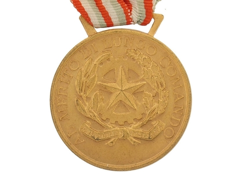 Medal of Honour for Long Command in the Military, in Gold Obverse