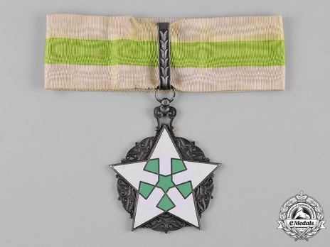 Order of Civil Merit (Wisam al-Satahaqaq al-Sun), II Class Officer Obverse