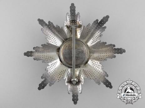 Grand Silver Breast Star Reverse