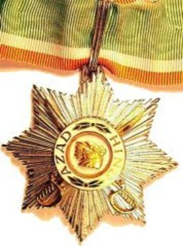 rder of Azad Hind, Tiger of India (Sher-e-Hind), Military Division, Grand Star (for combat service, with swords)
