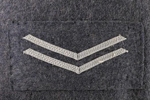 Luftwaffe Flakwaffenhelferinnenschaft Oberhelferin Chevron Obverse