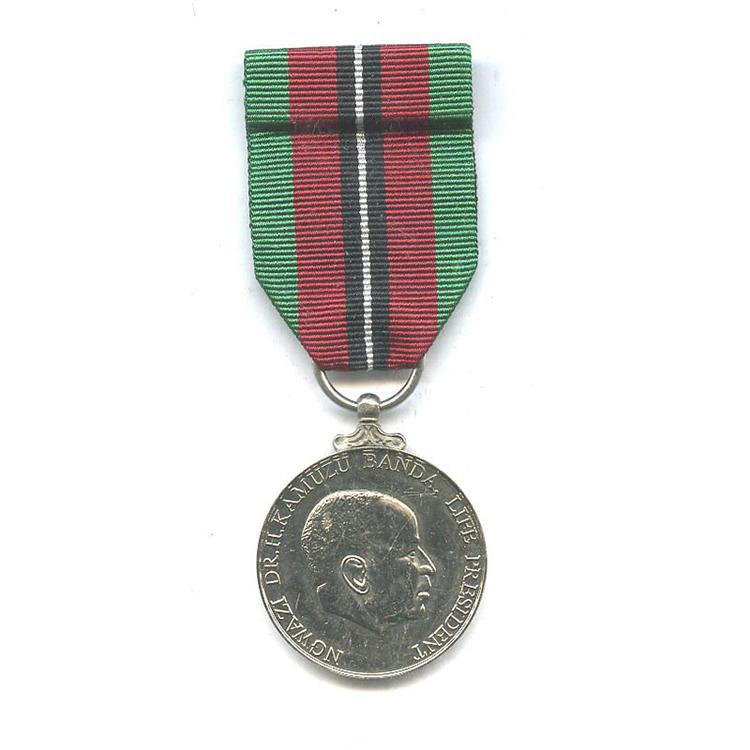 Malawi+jubilee+medal+lpm