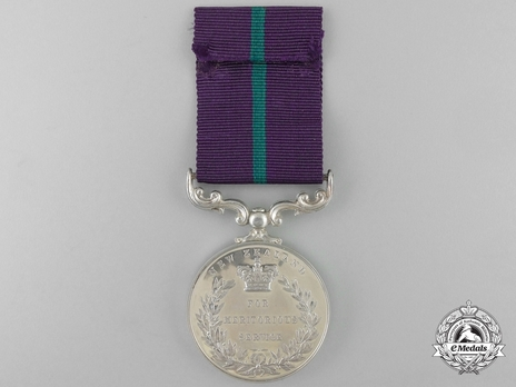 Silver Medal (for New Zealand, with Queen Elizabeth II effigy) Reverse
