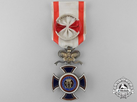 Order of Danilo I (Merit for the Independence), Type IV, IV Class, Officer Obverse