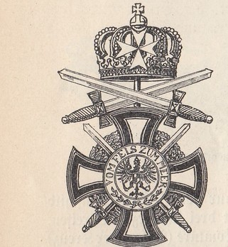 Military Division, Knight (with swords and St. John Cross)
