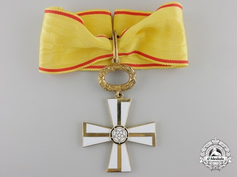 Order of the Cross of Liberty, Civil Division, I Class Commander (1941) Obverse