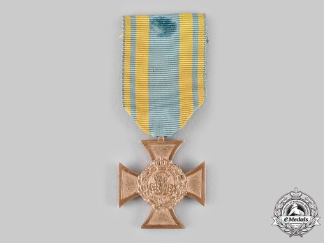 Commemorative War Cross, 1849, in Bronze