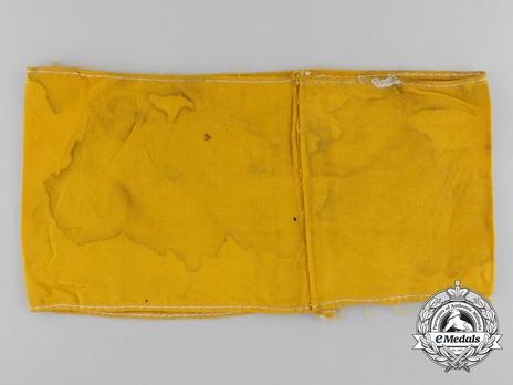 Deutsche Luftwaffe Armband Reverse