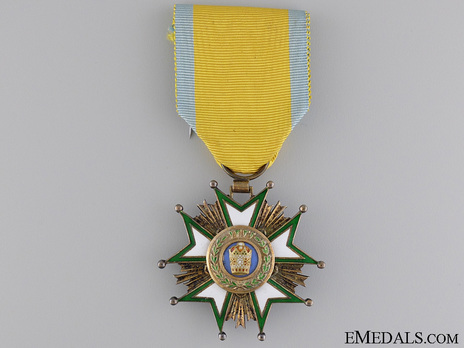 Order of the Crown (Order of Taj), V Class Knight Obverse