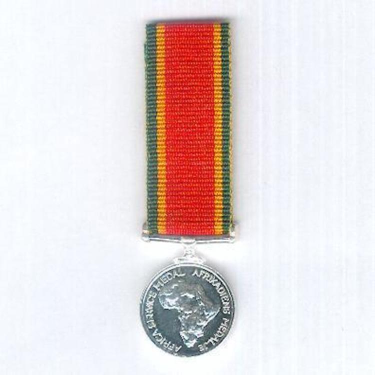 Silvered medal obv s