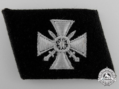 Waffen-SS 1st Russian Division Collar Tab Obverse