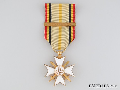 """I Class Cross (with """"1914-1918"""" clasp) Obverse"""