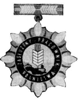Decoration for Meritorious Agricultural Workers Obverse