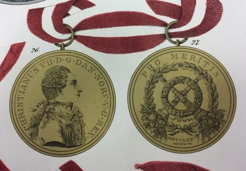 Medal Pro Meritis, Type I, in Gold