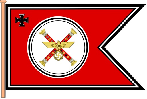 Flag of the Chief of the Armed Forces High Command (2nd version) Obverse