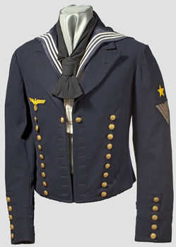 Kriegsmarine Parade Jacket Obverse