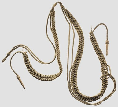 German Army General Aiguillette Obverse