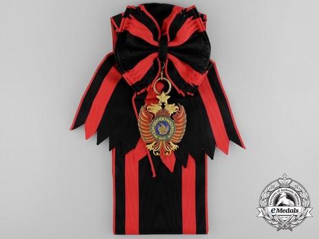 Order of Skanderbeg, Type II, Grand Cross Obverse