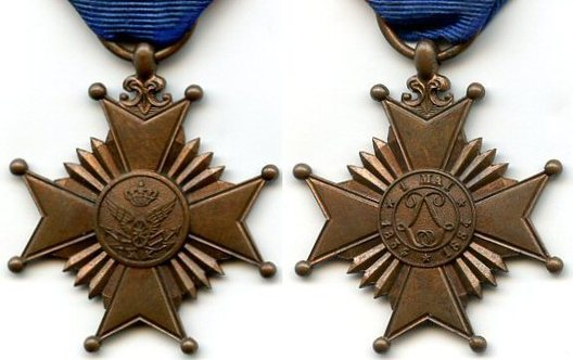 II Class Medal Obverse and Reverse