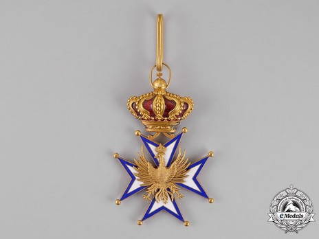 Grand Cross, Foreign Division (with crown) Obverse