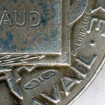 "Silver Medal (Ministry of War, stamped ""E M LINDAUER"") Details"