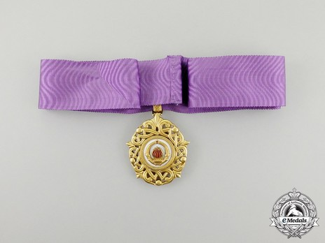 Order of the Grand Star of Yugoslavia, Type II, II Class Badge Reverse