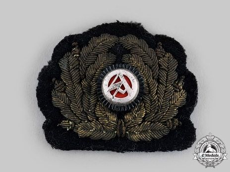 Marine-SA Cap Insignia (cockade & wreath version) Obverse