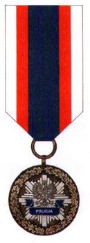 Decoration for Meritorious Policemen, III Class Obverse