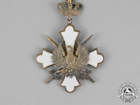 Order of the Phoenix, Type II, Military Division, Commander Obverse