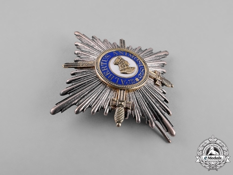 Type II, Military Division, I Class Commander Breast Star (in silver gilt, with swords 1889,1901,1914-1918)