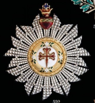 Commander Breast Star (with sacred heart) Obverse